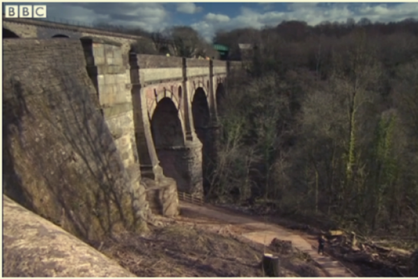 Marple Aqueduct maintenance