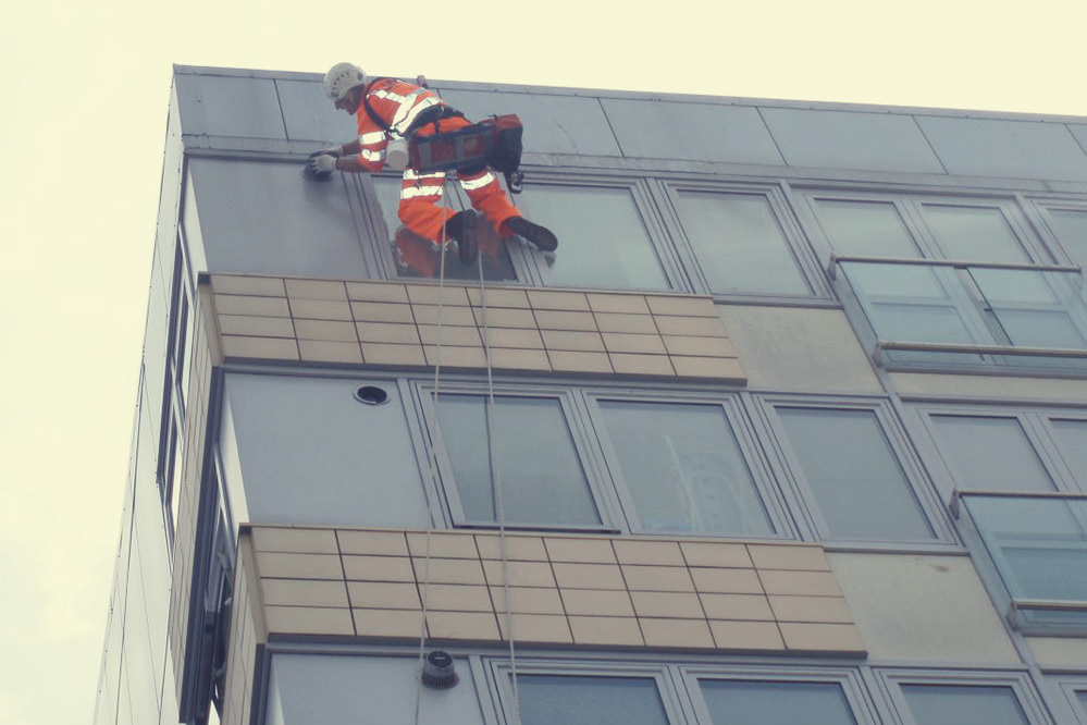 Eliot & Wentworth Court - Cladding Inspection at Height