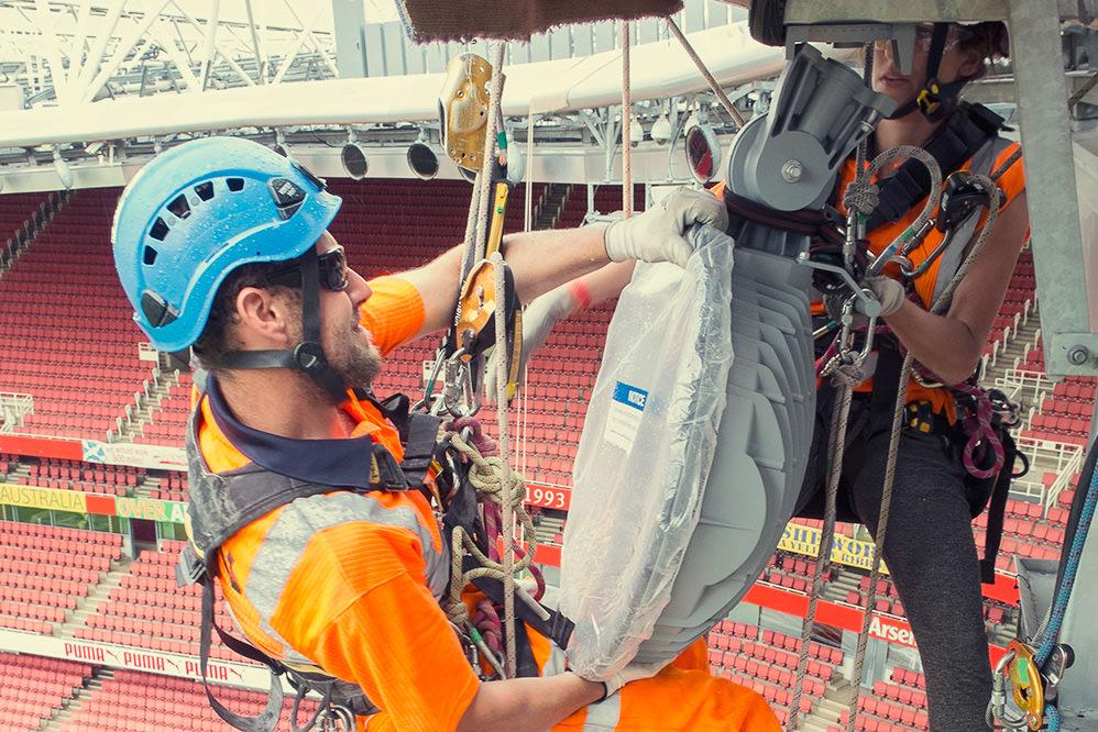 Emirates Stadium Led Lighting Installation Can Limited