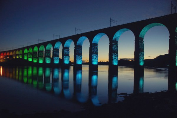 Royal Border Bridge - Lighting Installation