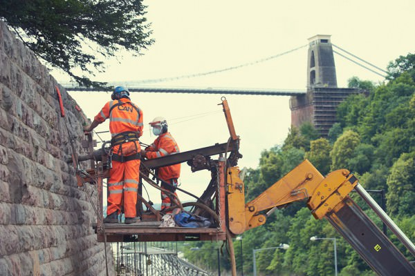 Bridge Valley Road Stabilisation