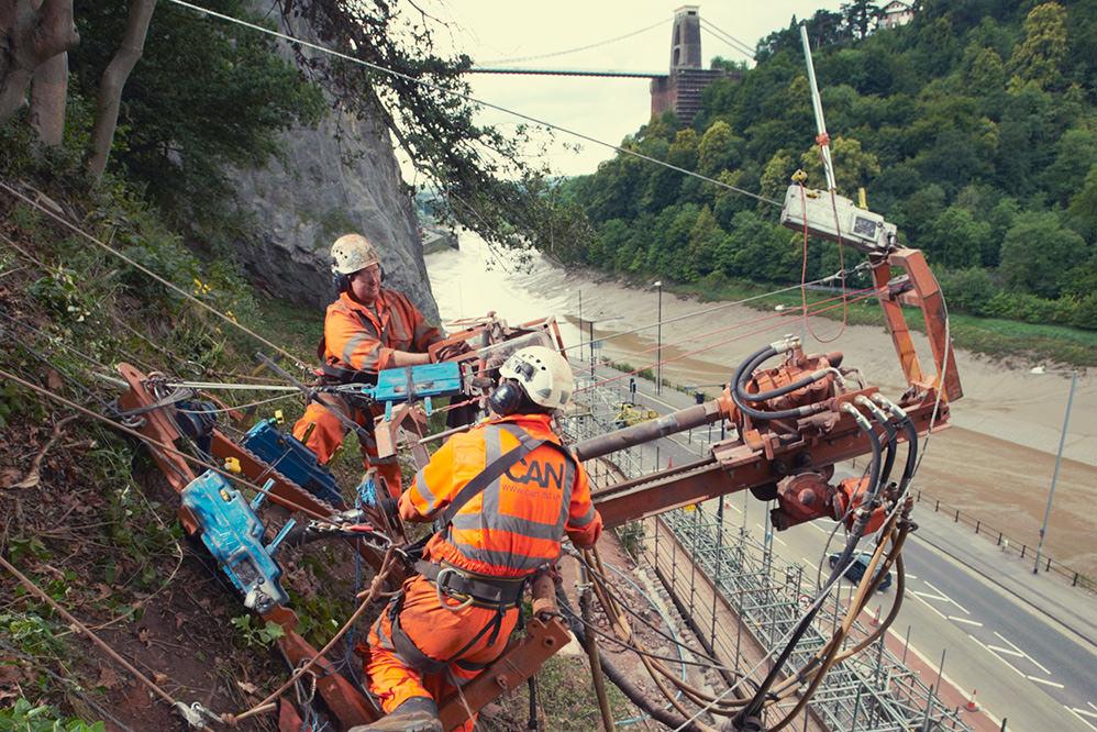 Bridge Valley Road Stabilisation
