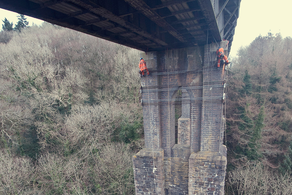 Coldrenick Viaduct – Pier Strengthening