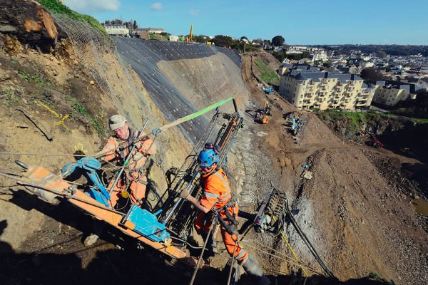 Rock Anchoring and Cliff Stabilisation - Jersey