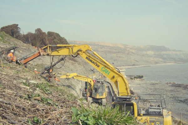 Lyme Regis – Coastal Slope Stabilisation