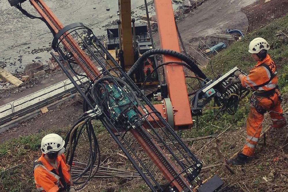 Lyme Regis – Coastal Slope Stabilisation