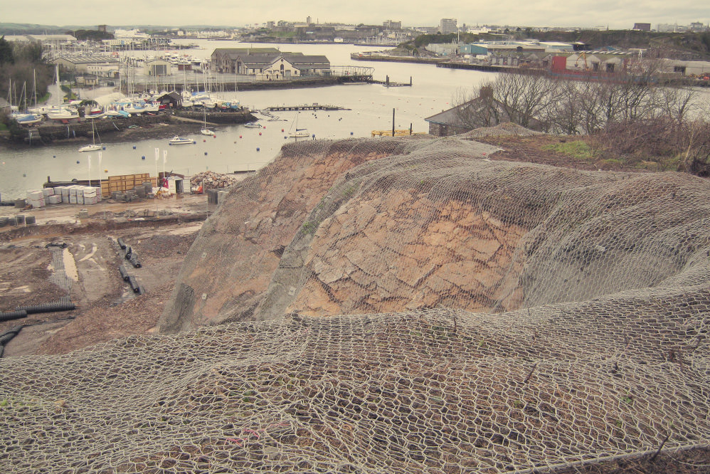 Boston Boatyard Development - Quarry Face Stabilisation