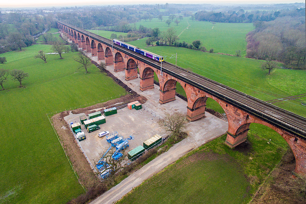 Holmes Chapel - Viaduct Brickwork Repairs