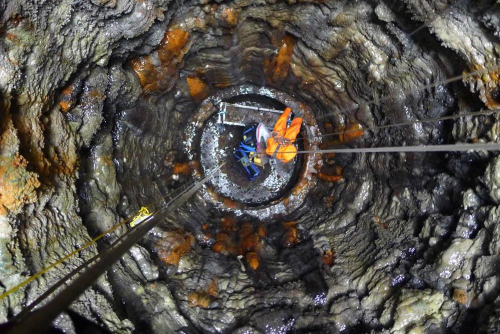 Risehill - tunnel shaft works