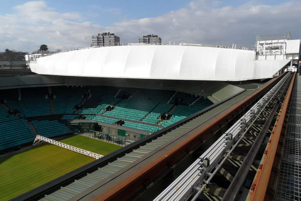 Wimbledon Centre Court - lighting installation