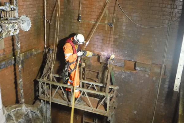 Turners Road Penstock Chambers - Rigging using CAN-Span