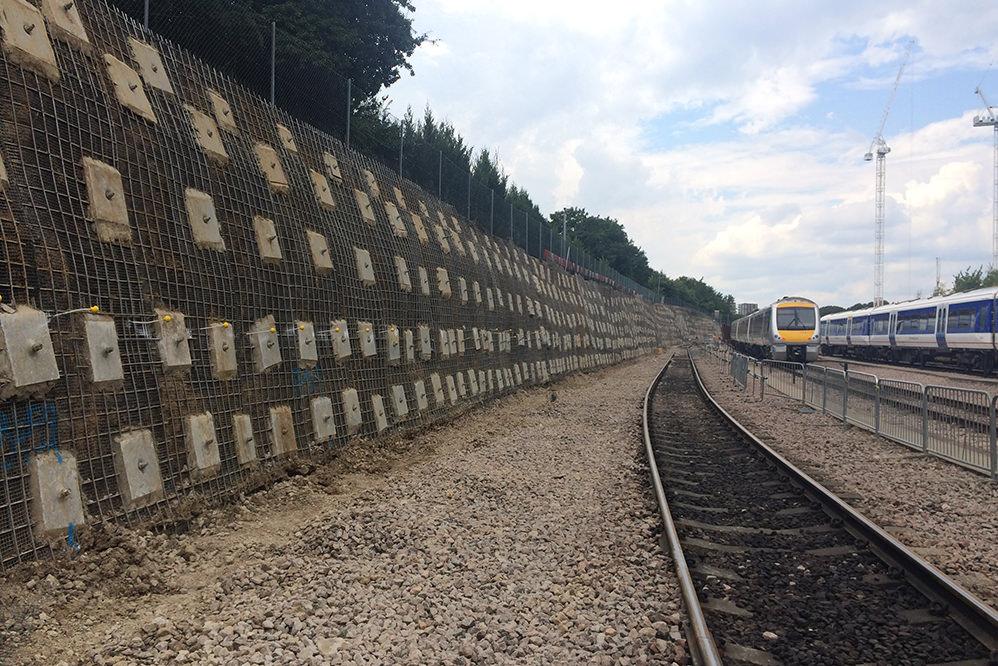 Wembley Depot - Soil Nailing