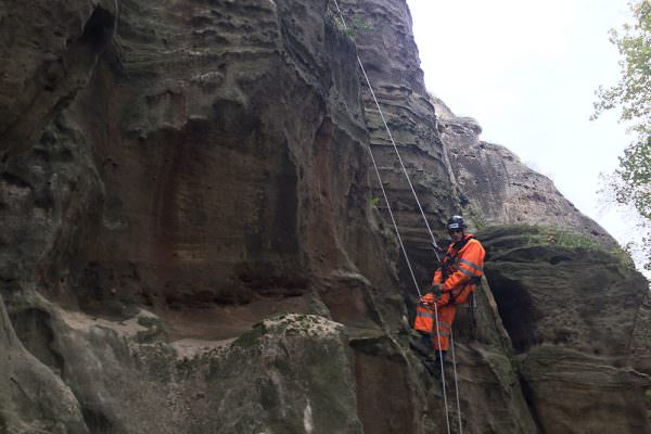 Nottingham Castle - Geotechnical Inspection