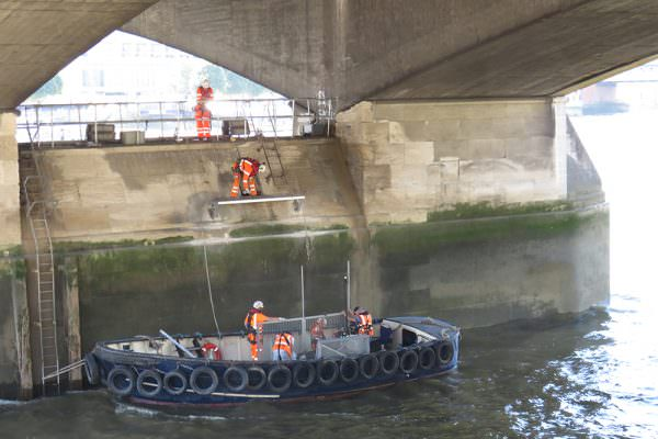 Waterloo Bridge - Pier Head Access Upgrade Works