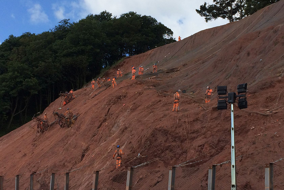 Woodlands Avenue Mudslide - Slope Stabilisation