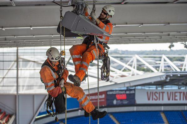 Cardiff City Stadium - Lighting Installation