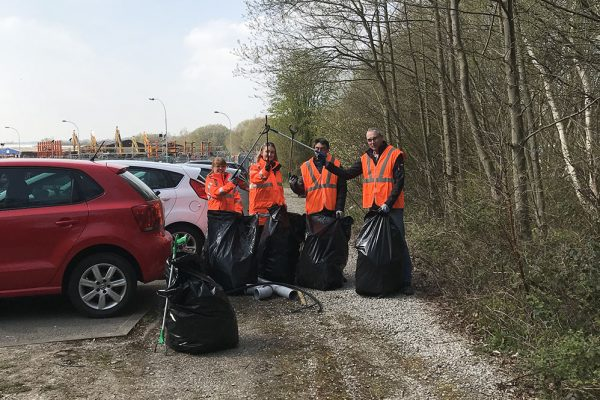 CAN concludes Trashtag challenge