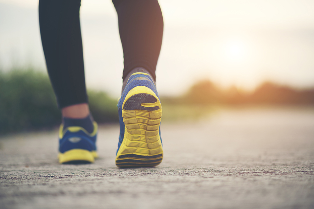 CAN strides out for the Pedometer Challenge
