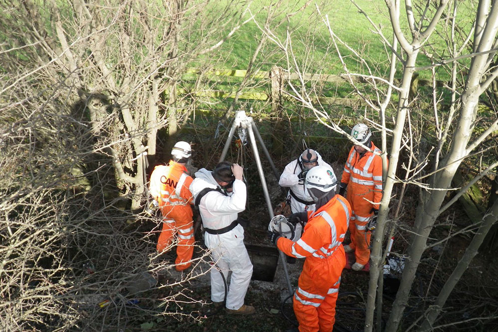 Confined Space Contracting Services- Rescue Cover