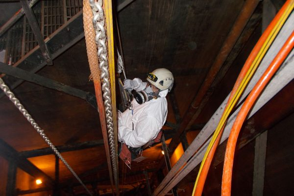 Confined Space Division launch