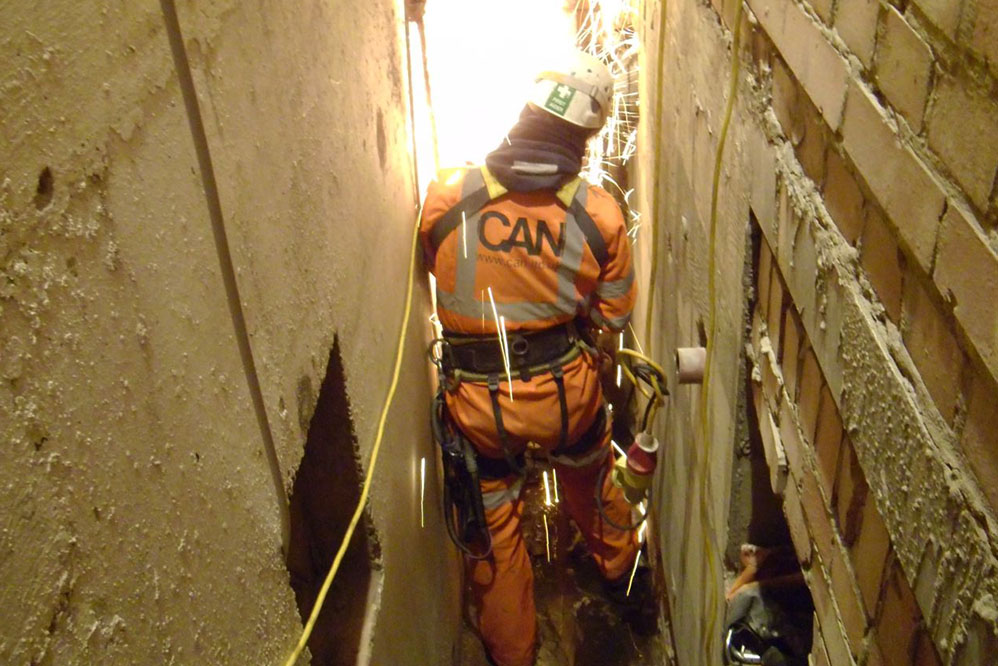 160 Great Portland Street - Confined Space Works
