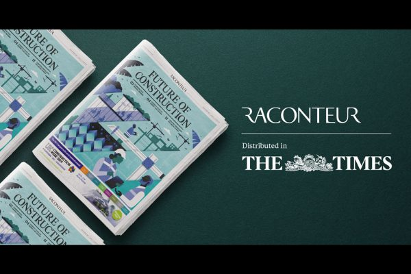 CAN features in 'Future of Construction' report for The Times