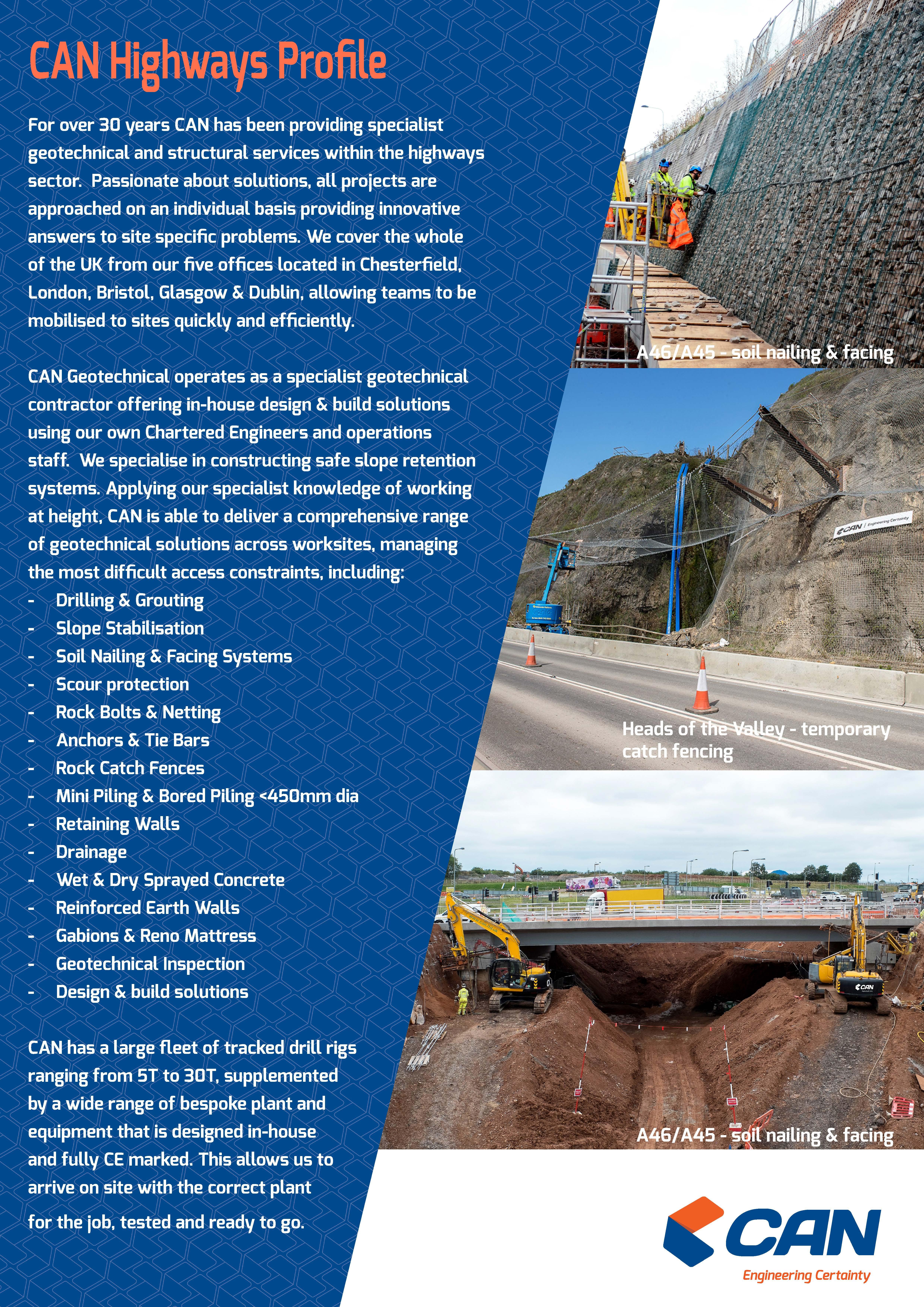 CAN Highways Brochure