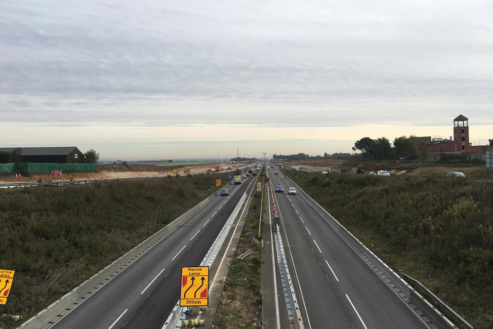 CAN Geotechnical Awarded Slope Stabilisation Works on A13 Road Widening Scheme