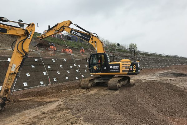 M23 Smart Motorways Programme - Embankment Works